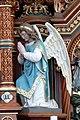 Helfenberg Pfarrkirche - Hochaltar 4a Tabernakel Engel.jpg