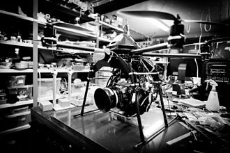 Red Digital Cinema Camera Company - Red Epic-X with hexacopter, 2011