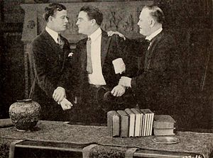 Charles Dorian - Charles Dorian (at left) in Hell's End (1918)