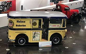 Helms Bakery - Helms delivery truck circa 1950 located at the LeMay Car museum in Tacoma, WA