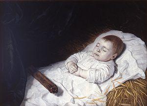 Bartholomeus van der Helst - Mourning portrait of a dead child