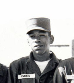 Hendrix in Army