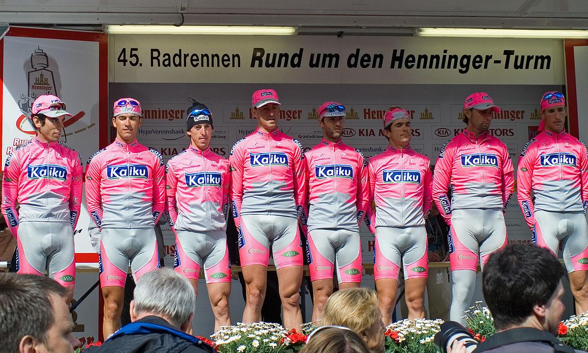 Kaiku equipo ciclista wikipedia la enciclopedia libre for Equipos de ciclismo