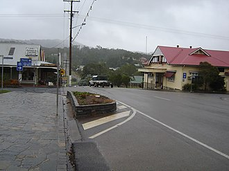 Herberton, Queensland - The main street of Herberton