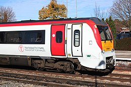Hereford - Keolis Amey 175003 in TfW livery.JPG