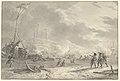 Het landen der Engelsen op de Noord-Hollandse kust bij Callantsoog in 1799, objectnr TA 10651.jpg