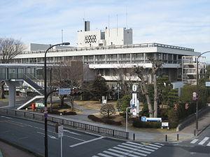 Higashimatsuyama, Saitama - Higashimatsuyama City Hall