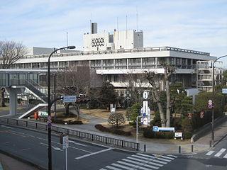 Higashimatsuyama, Saitama City in Kantō, Japan