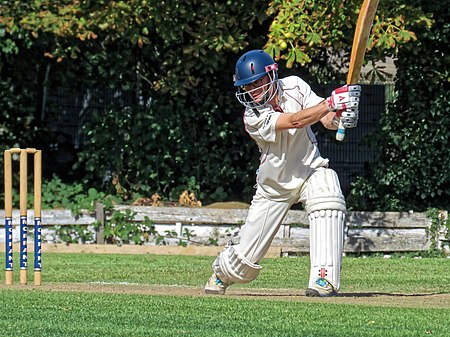 Highgate Taverners CC v Bohemians CC at Crouch End, London, England 4.jpg