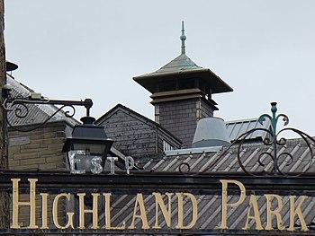 Highland Park Distillery Pagoda