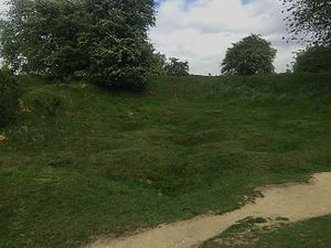Hill 60 (Ypres) - Deep mine crater, Hill 60