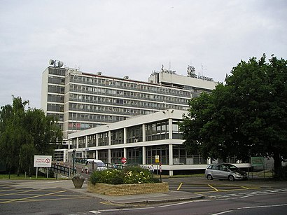 How to get to Hillingdon Hospital with public transport- About the place