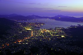Hiroshima Night View from Mt. Haigamine.jpg