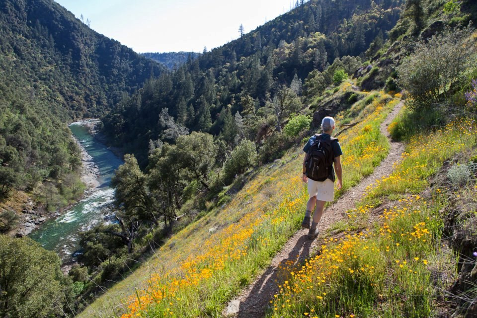 The historic Stevens Trail's trailhead is in Colfax