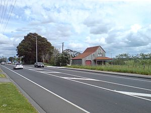 Hobsonville - The formerly rural character of Hobsonville is slowly disappearing, with new subdivisions being created.