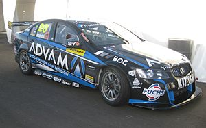 2013 Dunlop V8 Supercar Series - The Brad Jones Racing Holden VE Commodore in which Andrew Jones is contesting the 2013 Dunlop Series