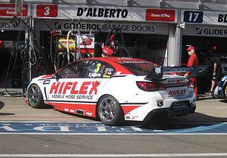 Tony D'Alberto - The Holden VF Commodore of D'Alberto at the 2013 Clipsal 500 Adelaide