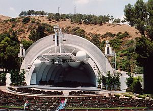 Hollywood Bowl, California, USA