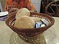 Homemade bread in restaurant.jpg