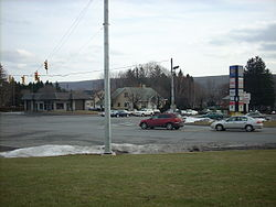 The intersection of PA 54 and PA309 in Hometown