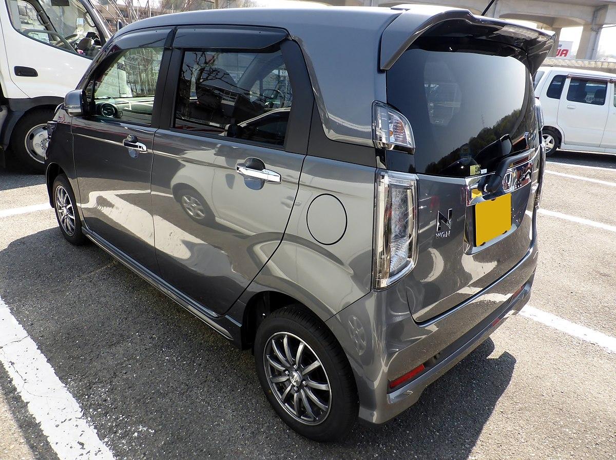 ファイル:Honda N-WGN Custom G Turbo Package (JH1) rear.JPG ...