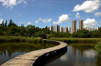 Yuen Long District - Hong Kond Wetland Park