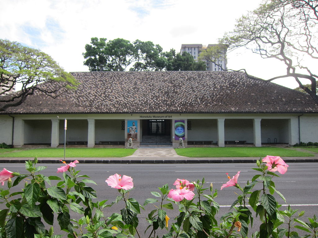 Honolulu Museum of Art from Thomas Square