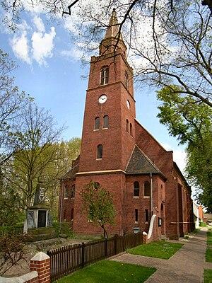 Horstdorf - Image: Horstdorf,Kirche und Kriegerdenkmal
