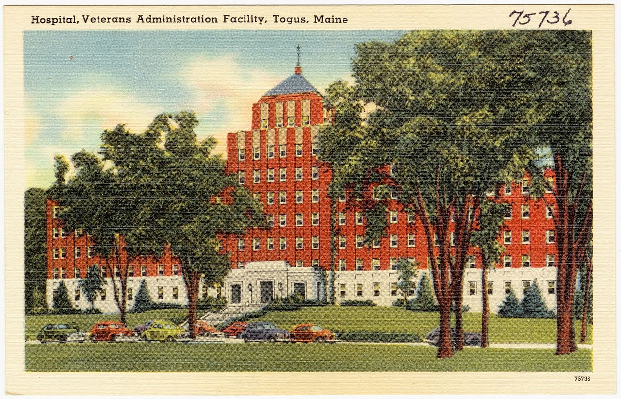 File Hospital Veterans Administration Facility Togus