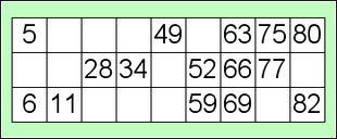 Bingo gioco wikipedia for Cartelle tombola per anziani