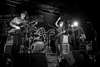 Howling Bells - Howling Bells, The Tuning Fork, September 2014 From left to right: Joel Stein, Glenn Moule, Juanita Stein, Gary Daines
