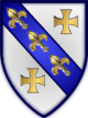 Coat of arms of the Vukčić-Hrvatinić noble family from time of Hrvoje[1]