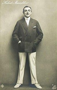 Hubert Marischka by Ludwig Gutmann, 1913.jpg