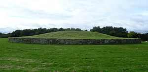 Newbridge chariot - Huly Hill burial mound