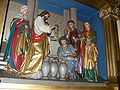 Hundersingen St Martin Hochaltar Hochzeit zu Kana Detail.jpg