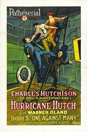 Hurricane Hutch - Poster for the fifth episode