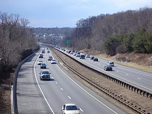 Interstate 476 - The Blue Route north of US 1.