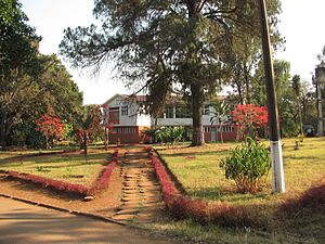Huambo: IAA_campus_view