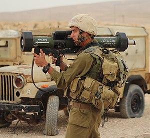 MATADOR - IDF soldier with a MATADOR