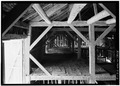 INTERIOR FRAMING - Hunt-Hosmer Barn, Lowell Road, Concord, Middlesex County, MA HABS MASS,9-CON,16-3.tif