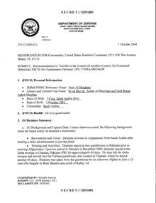 ISN 00346, Saud Al Shaghani's Guantanamo detainee assessment.pdf