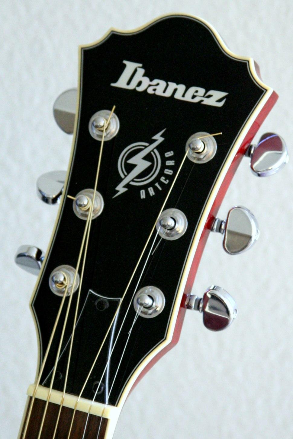 Ibanez Artcore headstock