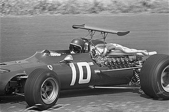 Ferrari 312 - Jacky Ickx at the 1968 Dutch Grand Prix.