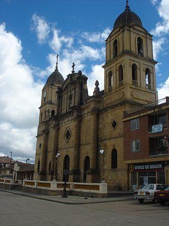 Chocontá - Image: Iglesia Choconta