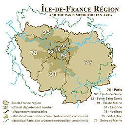 Parizo en Pariza regiono