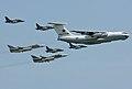 Ilyushin Il-78M, Yakovlev Yak-130, Sukhoi Su-24M2 (4711767893).jpg