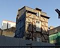 Immeuble endommagé par un incendie, 4 place Saint-Michel, Rennes, Ille-et-Vilaine.jpg