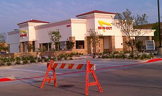 In-N-Out Burger - In-N-Out Burger in Frisco, Texas, one of the first locations to open in Texas.