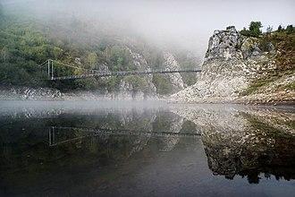 Uvac Special Nature Reserve - The bridge over Uvac