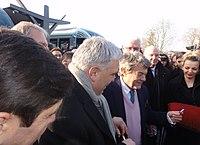 Inauguration de la branche vers Vieux-Condé de la ligne B du tramway de Valenciennes le 13 décembre 2013 (093).JPG